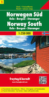 Freytag & Berndt - Norway South map - Reisekart