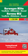 Freytag & Berndt - Norway Central map - Reisekart