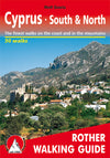 Rother guides - Cyprus - South & North walking guide - Vandreguide