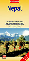 Nelles Maps - Nepal Kathmandu Valley & city Patan Valley - Reisekart