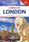 Lommekjent London Lonely Planet Guide & kart