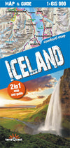 TerraQuest - Iceland map & guide XXL - Reisekart