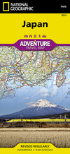 National Geographic Adventure Map - Japan