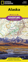 National Geographic Adventure Map - Alaska