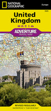 National Geographic Adventure Map - United Kingdom
