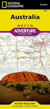 National Geographic Adventure Map - Australia