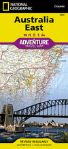 Adventure Travel Map Reisekart - National Geographic - Australia,National Geographic,Kart,Adventure Maps
