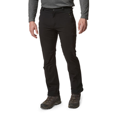 Craghoppers Nosilife Pro Trousers Black - Long front