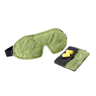 Cocoon Eye Shades De Luxe sovemaske - Wasabi Green