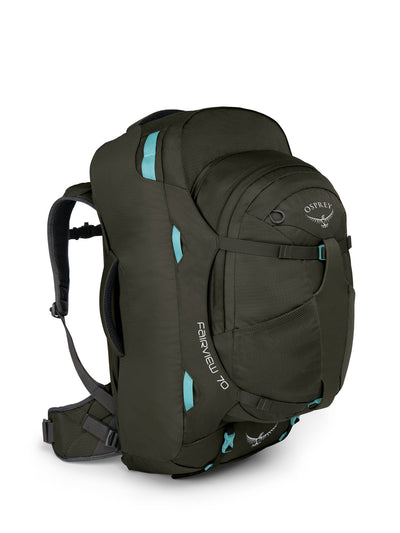 Osprey Fairview 70 Misty Grey dame reisesekk backpacking