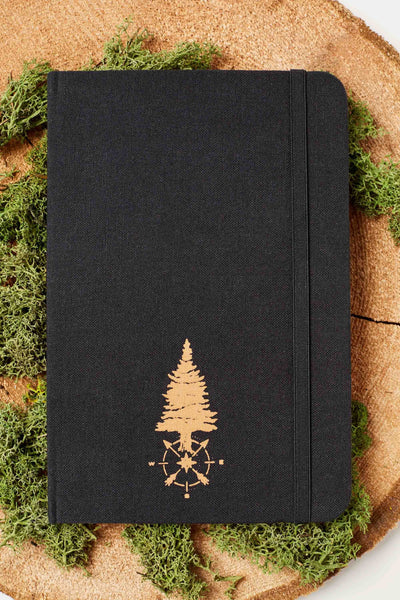 United by Blue Carpenter Traveler Journal reisedagbok - Black