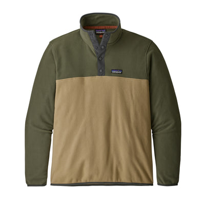 Patagonia Micro D Snap-T Pullover fleece for herre - Classic Tan