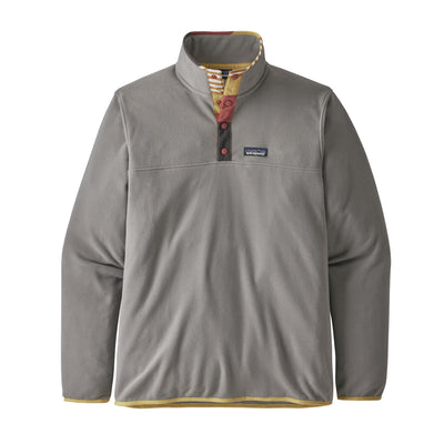 Patagonia Micro D Snap-T Pullover fleece for herre - Feather Grey