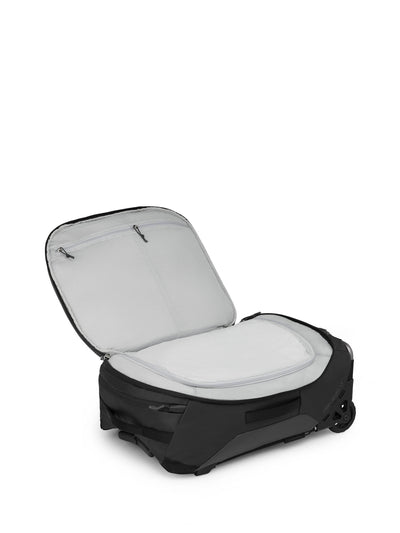 Osprey Rolling Transporter Carry-On 38 - Black åpen