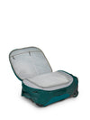Osprey Rolling Transporter Carry-On 38 - Westwind Teal åpen