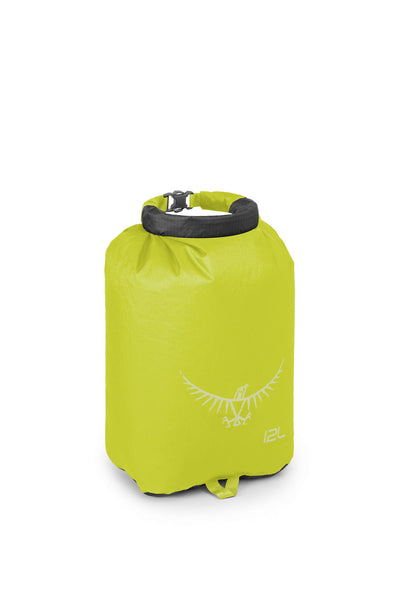 Osprey Ultralight DrySack 12L Electric Lime pakkepose
