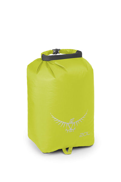 Osprey Ultralight DrySack 20L Electric Lime pakkepose