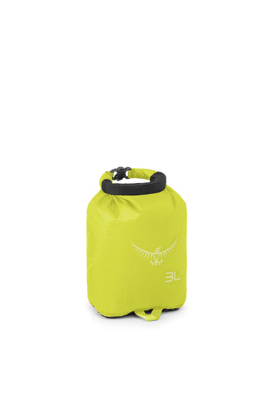 Osprey Ultralight DrySack 3L Electric Lime pakkepose