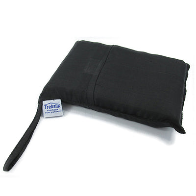 Chillout Slik Sleeper Black silkelakenpose