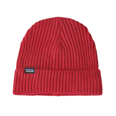 Patagonia Fisherman Rolled Beanie lue - Rincon Red