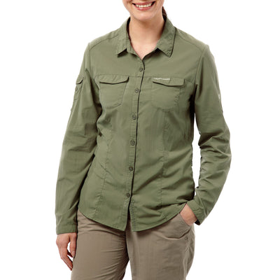 Craghoppers Adventure Shirt Soft Moss foran dame