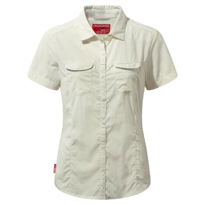Craghoppers Adventure SS Shirt Dame - Sea Salt