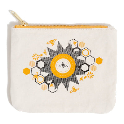 United by Blue Canvas Pouch pung - Bee Hive