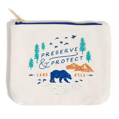United by Blue Canvas Pouch pung - Preserve & Protect