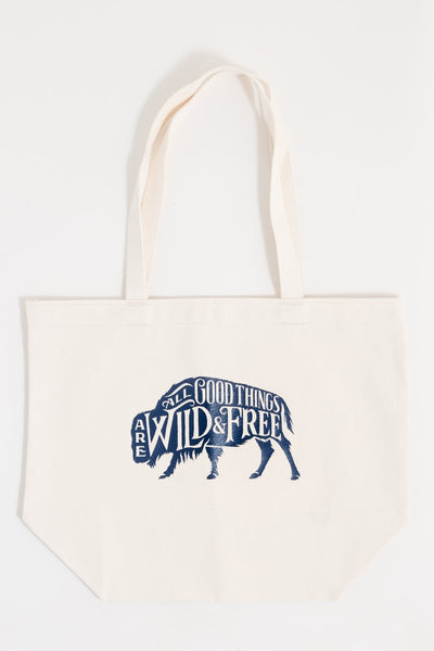 Wilde & Free Canvas Tote
