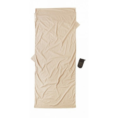 Cocoon Insect Shield Cotton Sleeper lakenpose - Sand