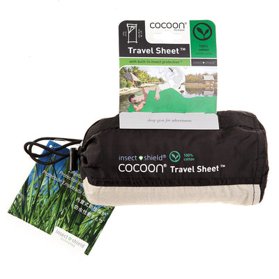 Cocoon Insect Shield Cotton Sleeper lakenpose