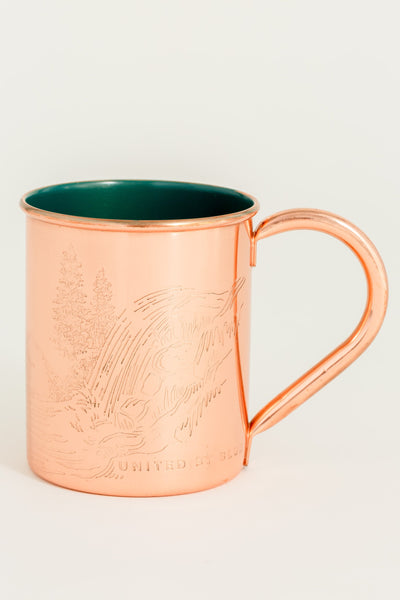 Enamel/Copper Mug Waterfall