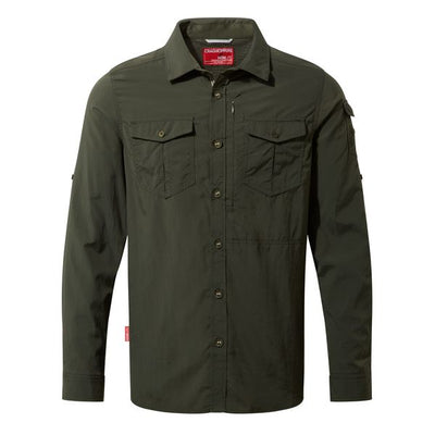 Craghoppers Adventure II LS Shirt Dark Khaki 2019
