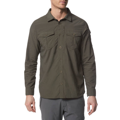 Craghoppers Adventure II LS Shirt Dark Khaki modell