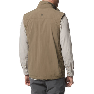 Craghoppers Nosilife Adventure Gilet Pebble bak