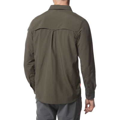 Craghoppers Adventure II LS Shirt Dark Khaki baksiden