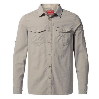 Craghoppers Adventure II LS Shirt Parchment 2019