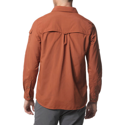 Craghoppers Adventure II LS Shirt Burnt Whiskey baksiden