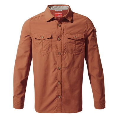 Craghoppers Adventure II LS Shirt Burnt Whiskey 2019