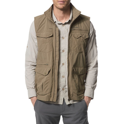 Craghoppers Nosilife Adventure Gilet safarivest - Pebble