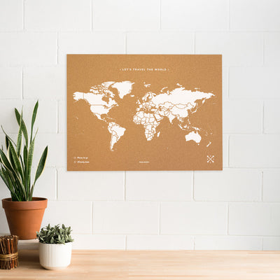 Woody Map XL (90 x 60 cm)