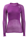 Brynje Wool Thermo Light Shirt Dame - Violet