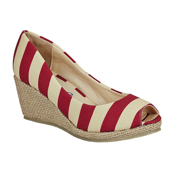 Garnet & Old Gold Wedges - Lillybee Style