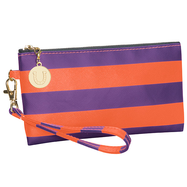 Purple & Orange Wristlet - Lillybee Style