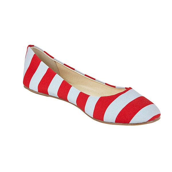 Scarlet & Gray Flats - Lillybee Style