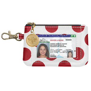 Crimson & White ID Case - Lillybee Style