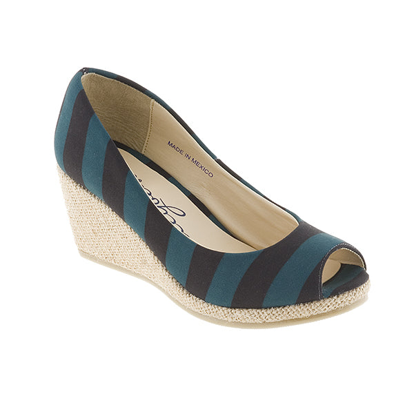 Black and Teal Wedges - Lillybee Style
