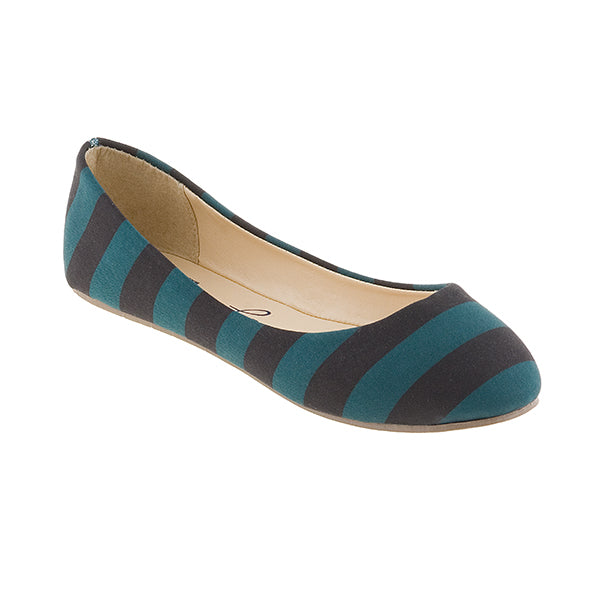 Black & Teal Flats - Lillybee Style