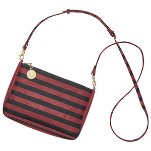 Garnet & Black Crossbody Bag - Lillybee Style