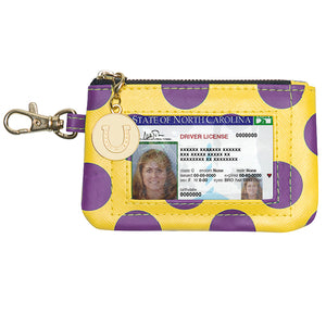 Purple & Gold ID Case - Lillybee Style